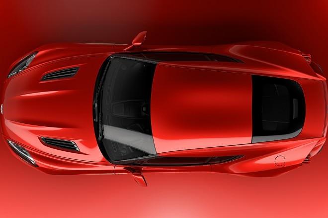 Aston Martin Vanquish Zagato Concept top