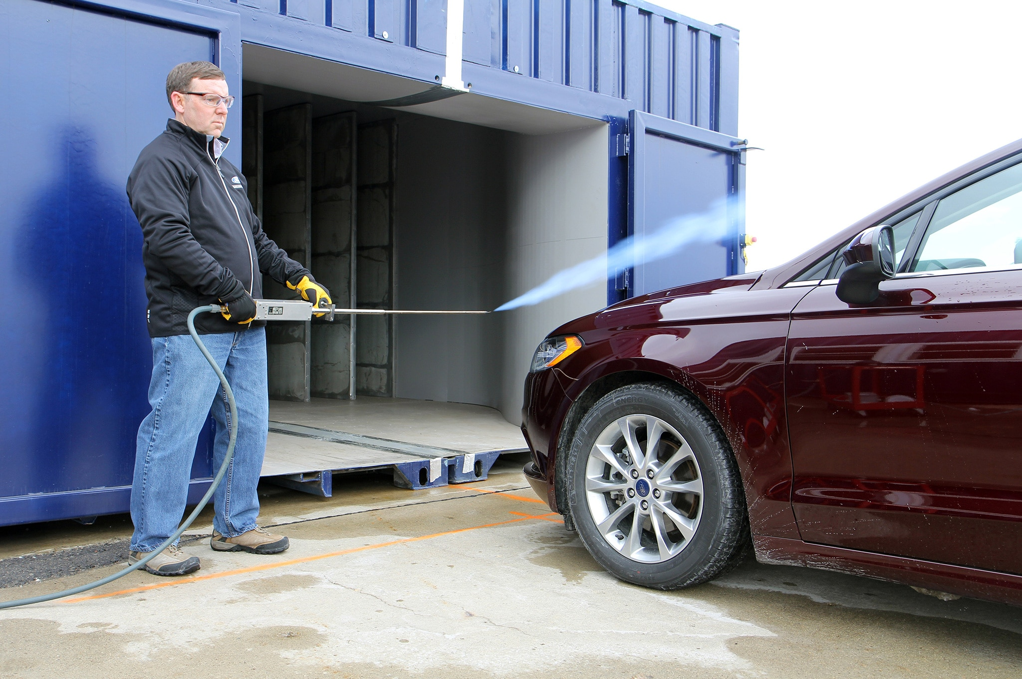 Ford Mobile Wind Tunnel 4