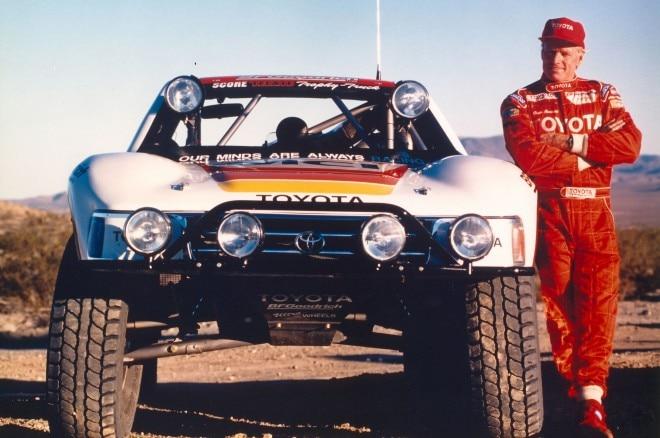 Ivan Ironman Stewart Vintage Toyota
