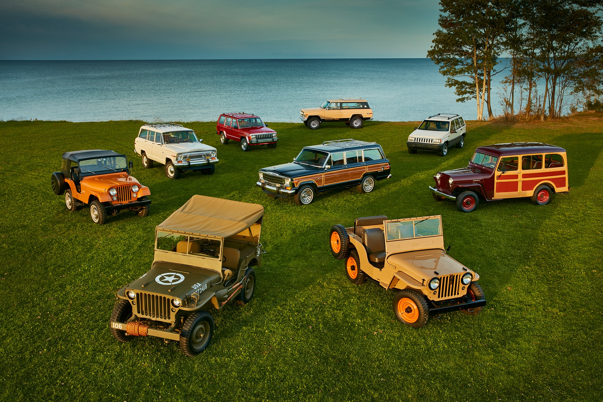 Jeep Milestone Models