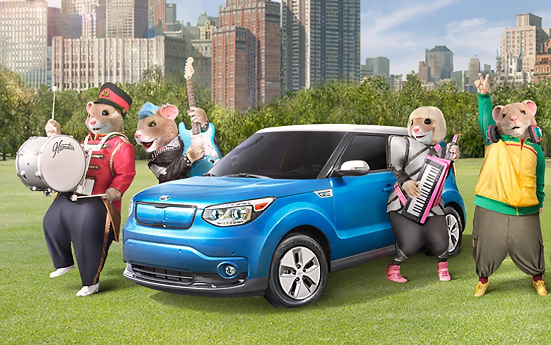 Kia Soul Hamster >> Musical Hamsters Return for 2016 Kia Soul Commercial (W/Video)