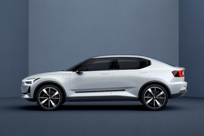 Volvo Concept 40 2 Side Profile
