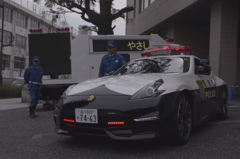 Nissan 370z Cop Car
