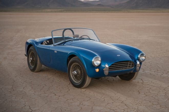 1962 Shelby AC Cobra CSX2000 front three quarters