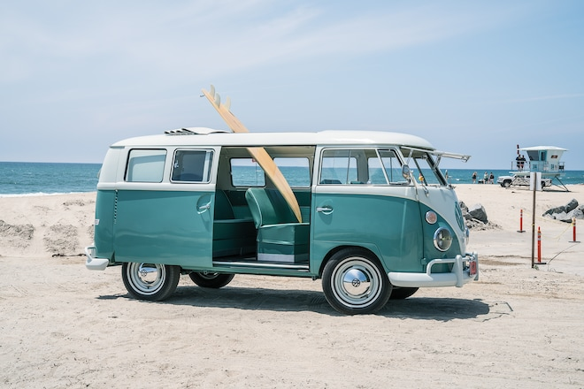 1964 Volkswagen Microbus With Zelectric Conversion 12