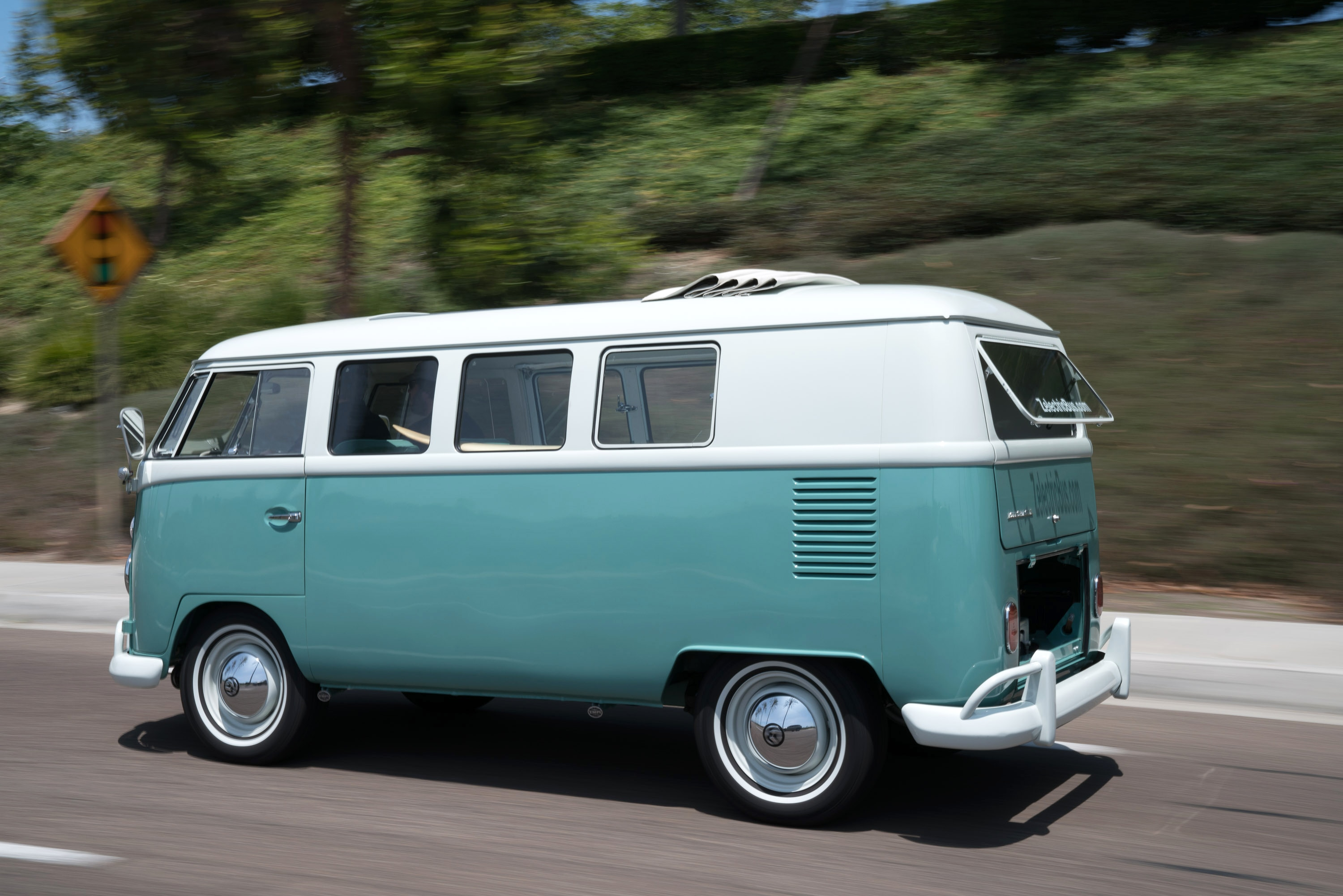 Zelectrified Meet The All Electric 1964 Volkswagen Microbus