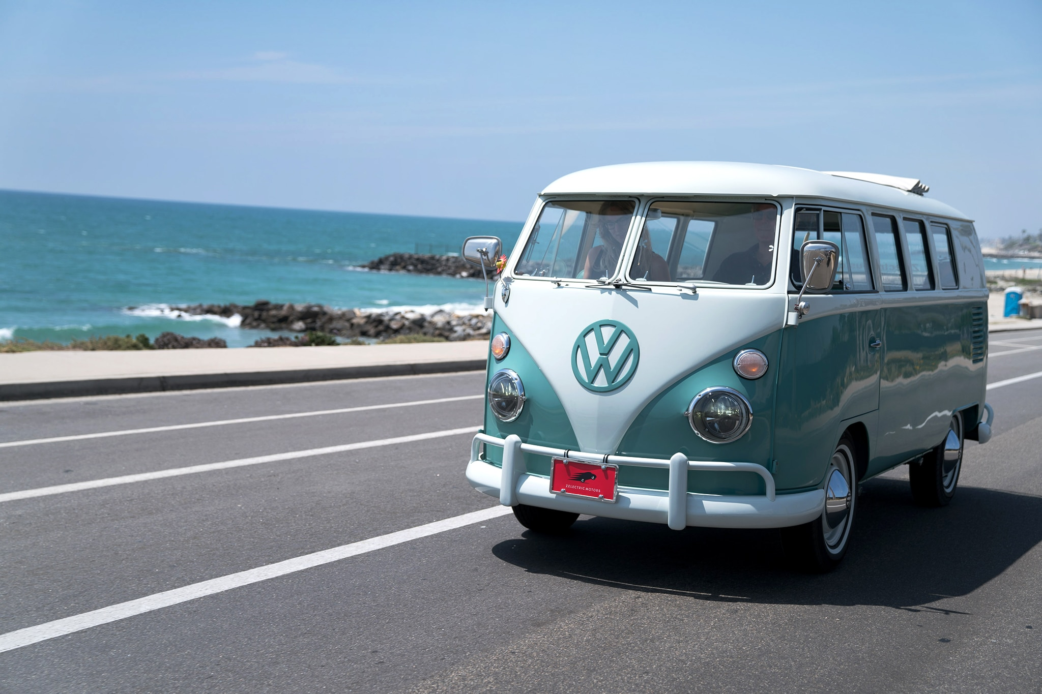Zelectrified: Meet the All Electric 1964 Volkswagen Microbus