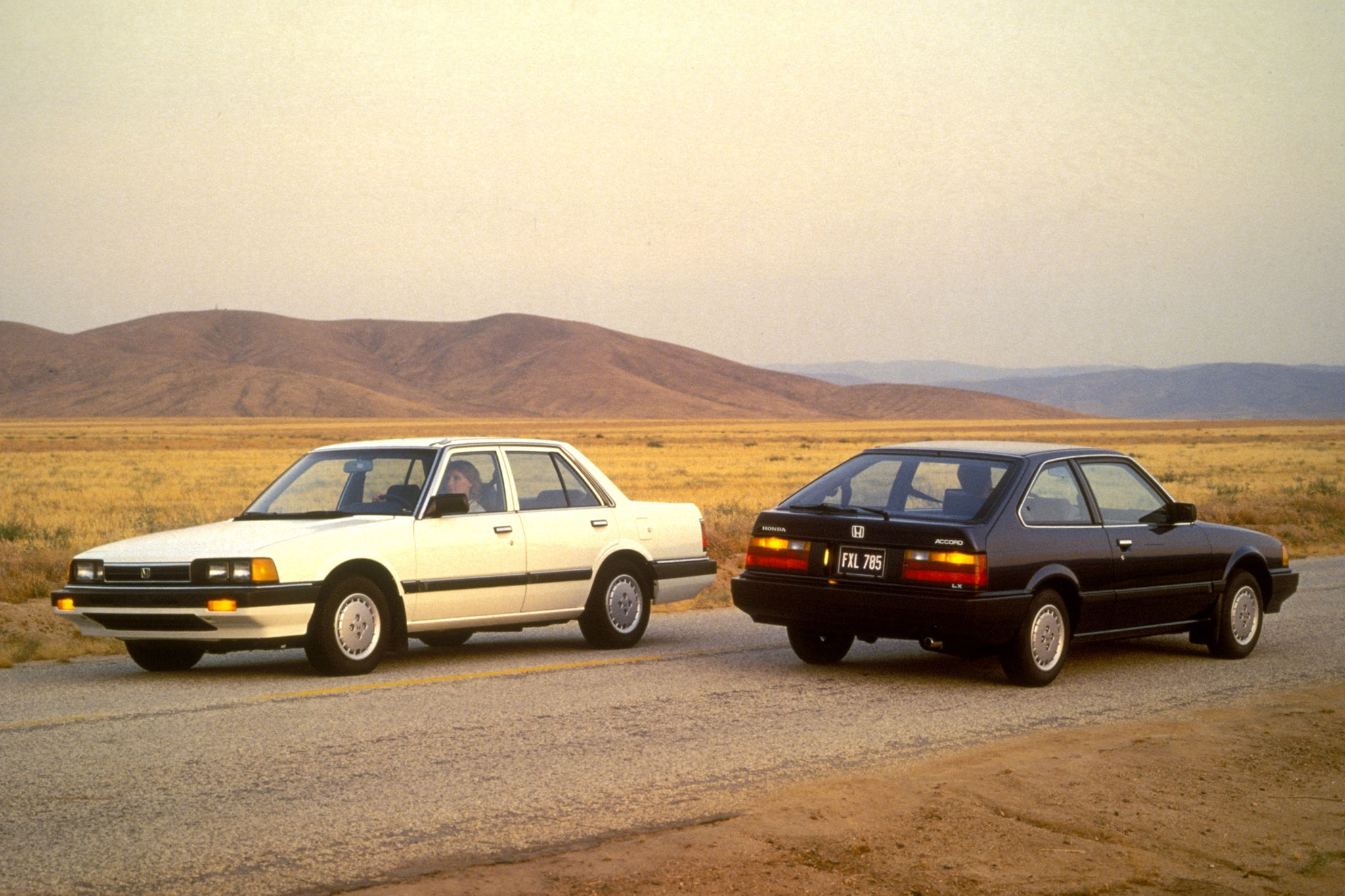 1985 Honda Accord 2nd generation 1 - Automobile