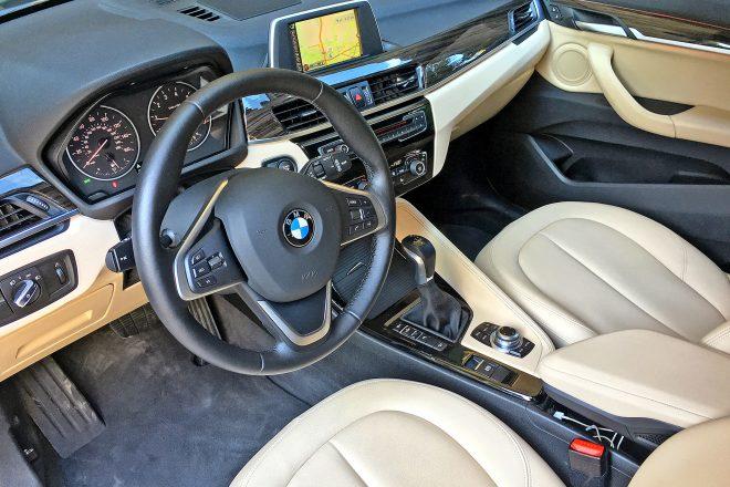 2016 BMW X1 xDrive28i cabin