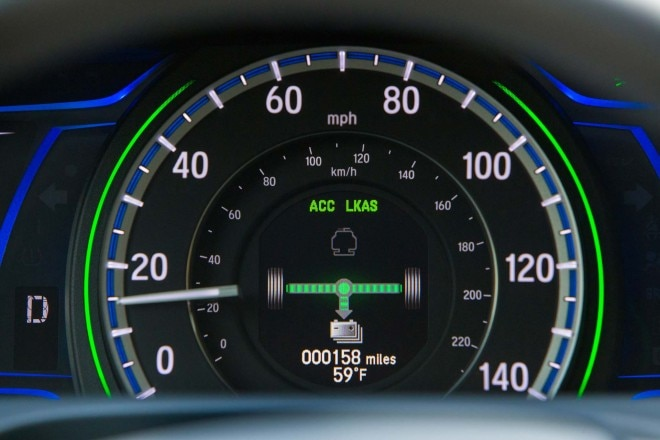2017 Honda Accord Hybrid instrument cluster