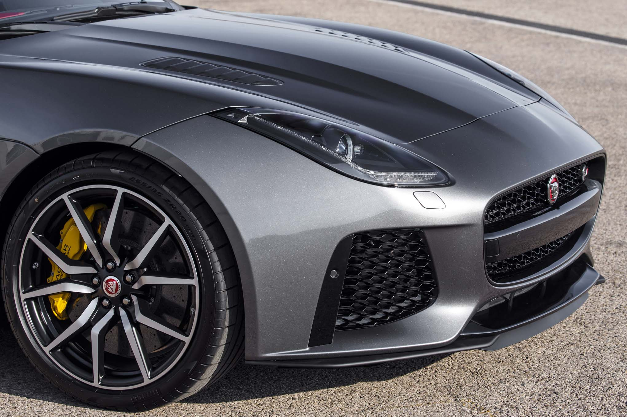 The Jaguar FType SVR has arrived and its quick Top