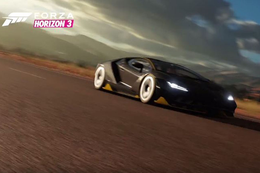Soon You Can Drive The Lamborghini Centenario In Forza Horizon 3