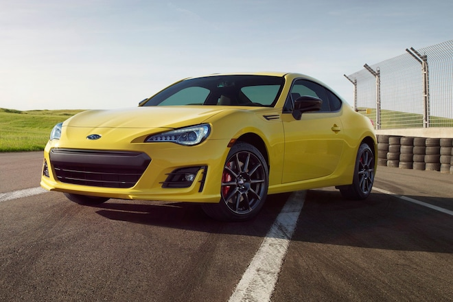 2017 Subaru BRZ Series Yellow Special Edition Front Three Quarter 01