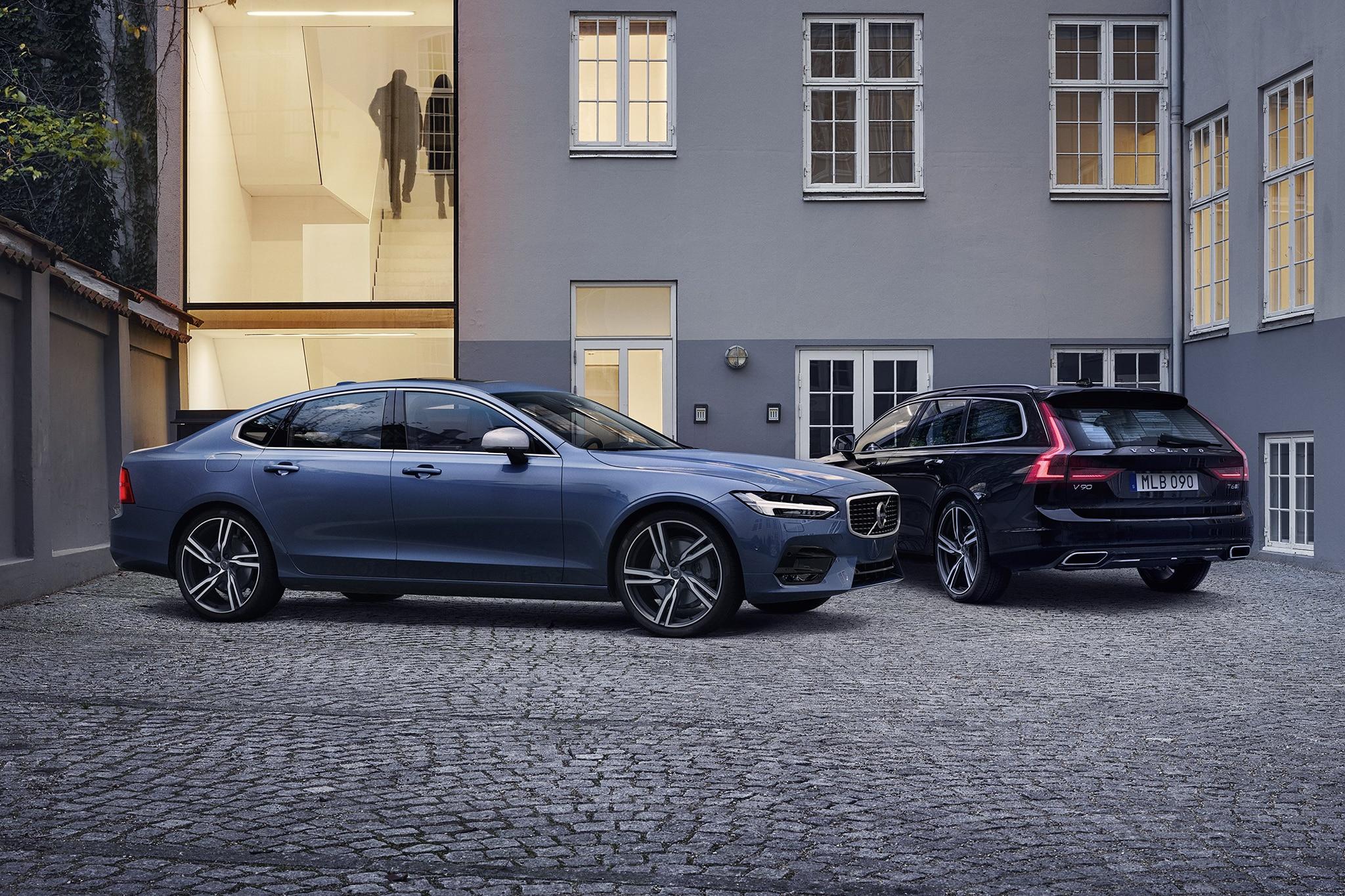 2017 Volvo S90 R Design And 2017 Volvo V90 R Design 01