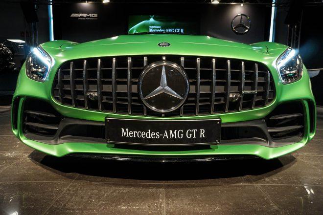 2018 Mercedes AMG GT R grille
