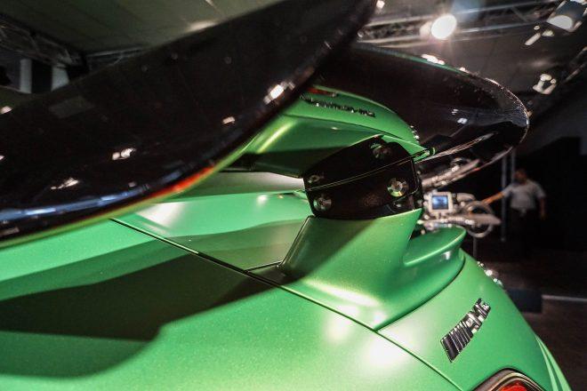 2018 Mercedes AMG GT R rear spoiler