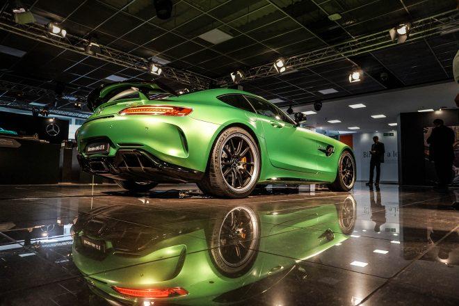 2018 Mercedes AMG GT R rear three quarter