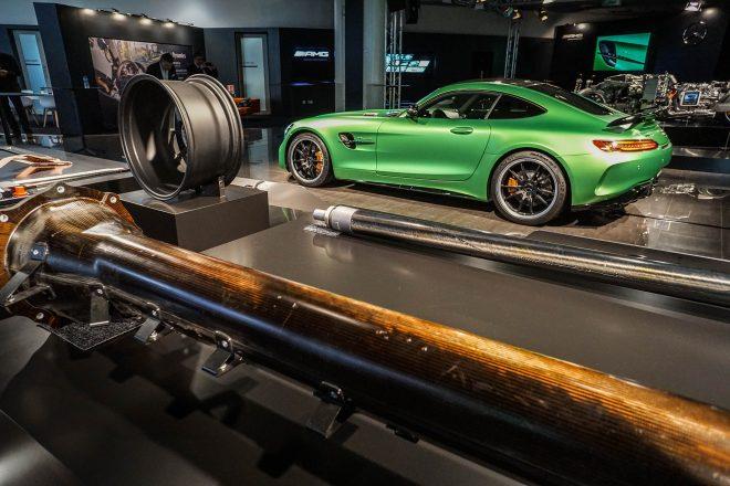 2018 Mercedes AMG GT R side profile 02