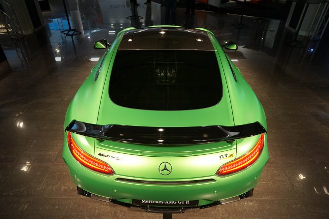 2018 Mercedes AMG GT R top view 1