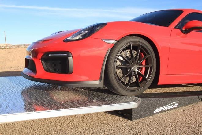 Aerovault MK II Porsche GT4 loading detail