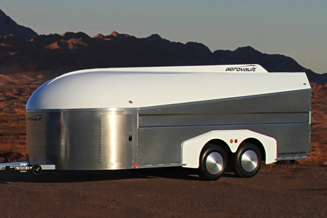 Aerovault side view all aluminum and composites