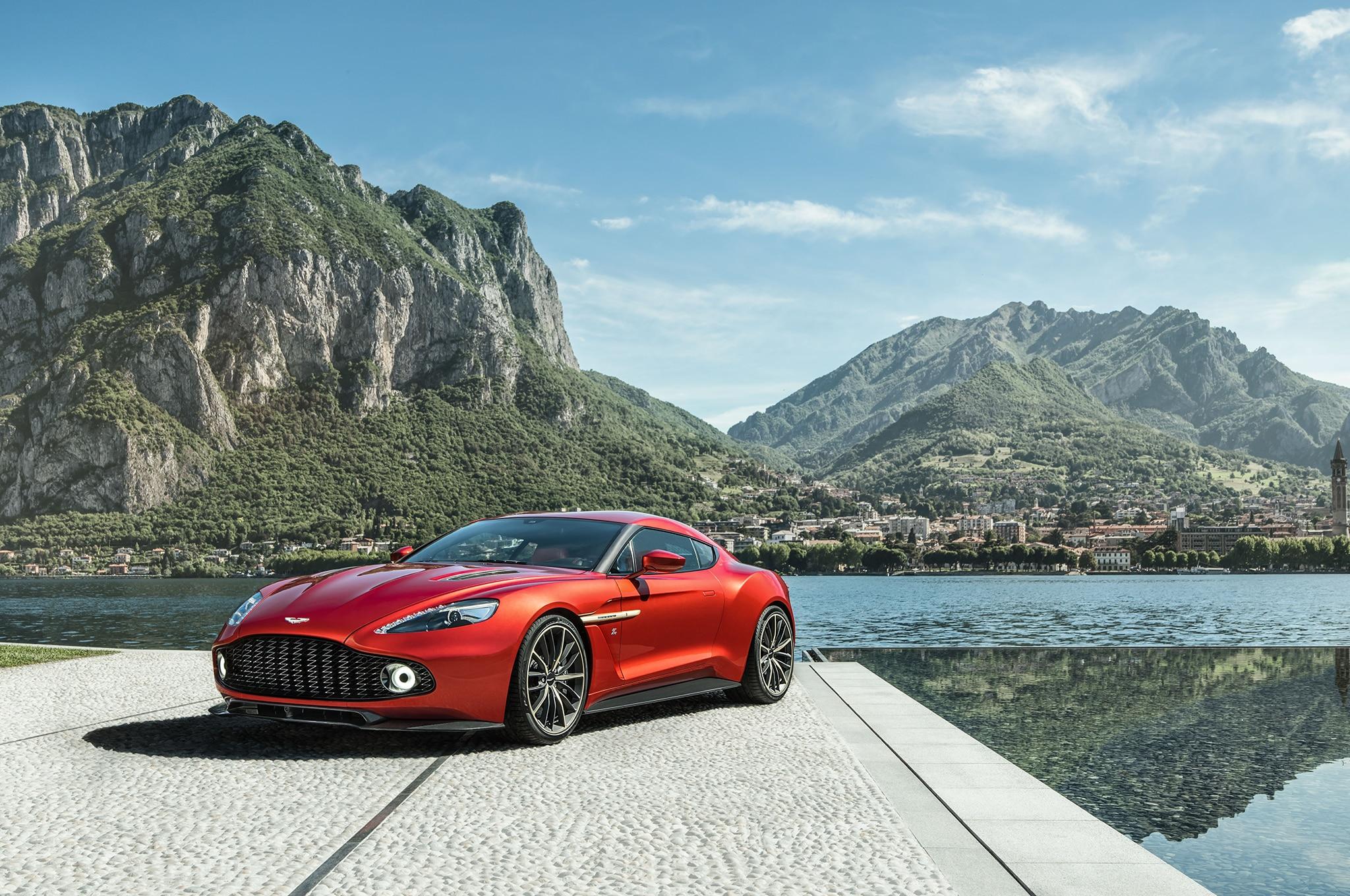 Aston Martin Vanquish Zagato Front Three Quarter 02