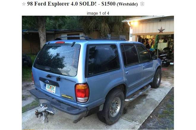 Craigslist Ad Dad Sells SUV 2