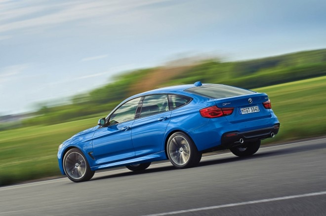 Euro spec BMW 3 Series Gran Turismo M Sport 9