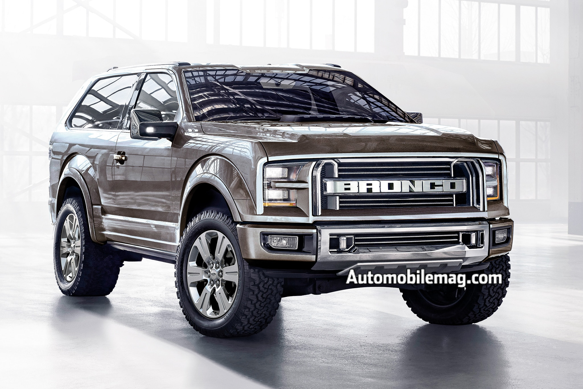 New Ford Bronco 2017 >> Official Ford Ranger Bronco Coming Back Automobile Magazine