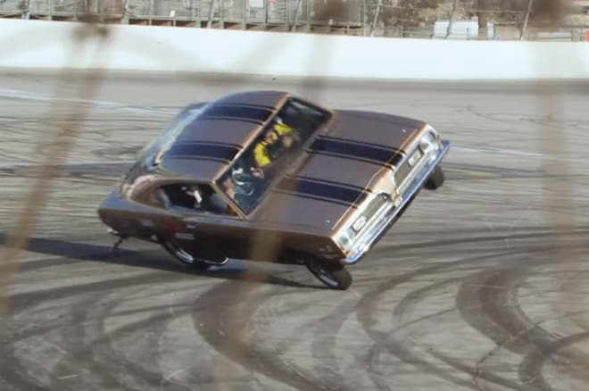 Jay Leno Rolls Over in a 2,500-hp Plymouth Barracuda