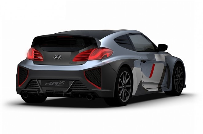 Hyundai RM16 Concept rear three quarters