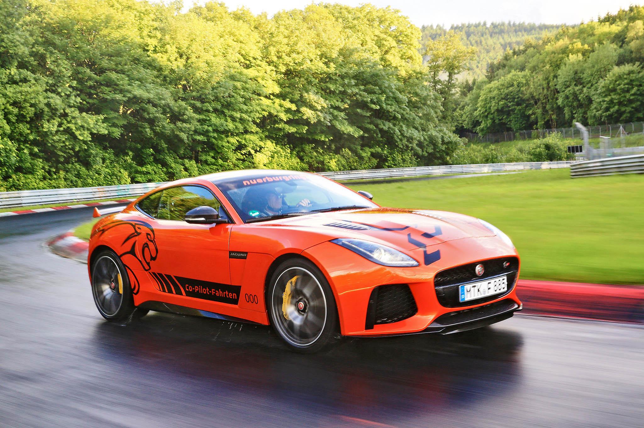 jaguar svr ring nurburgring take cat rent adopt around verleiding meerijden ultieme engined layout could mid ftype galerie gen fastest