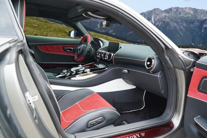 Mercedes AMG GT S one off by Mansory cabin