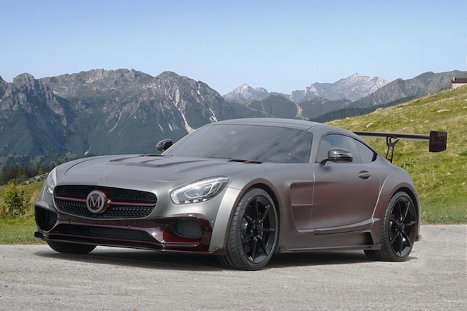 Mercedes AMG GT S One Off By Mansory Front Three Quarter 02
