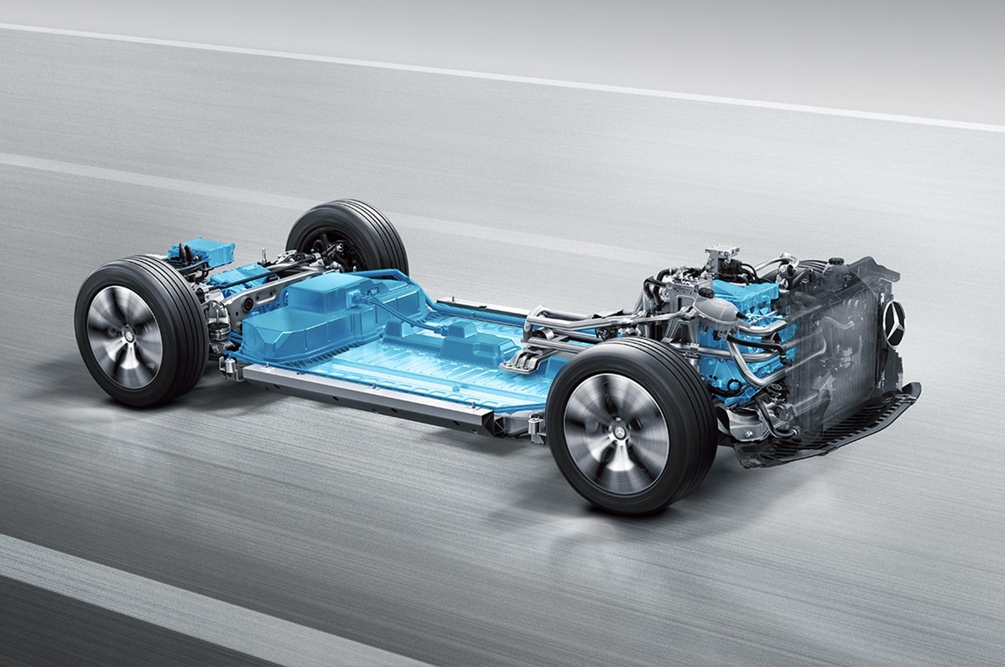 Mercedes Benz Multi Model Electric Vehicle Platform 2