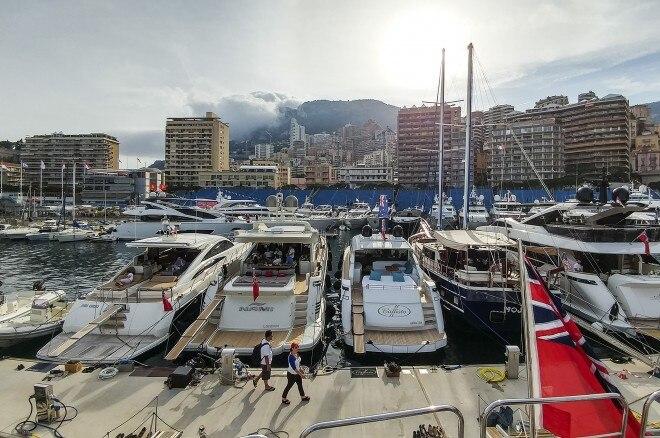 Monaco yacht slips