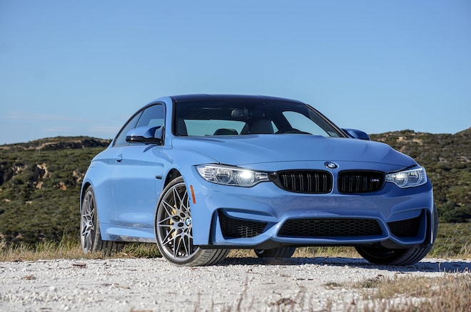 2016 Bmw M4 Compeion Package Front Three Quarter