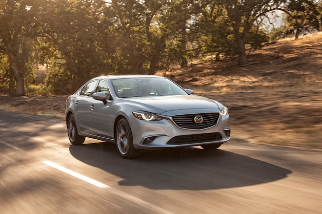 2016 Mazda6 Front Three Quarter In Motion1 1