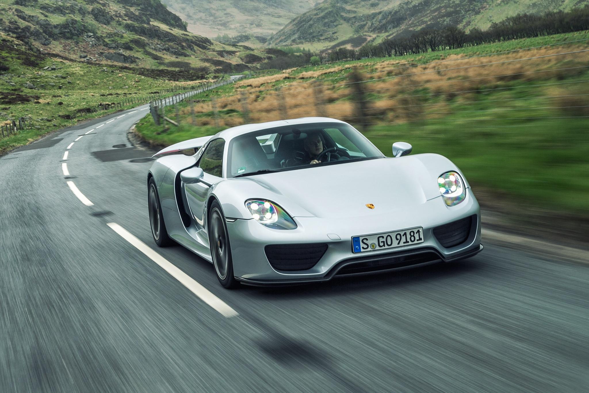Porsche Led Headlights >> Porsche 918 Spyder Reimagined with a 2018 Facelift | Automobile Magazine