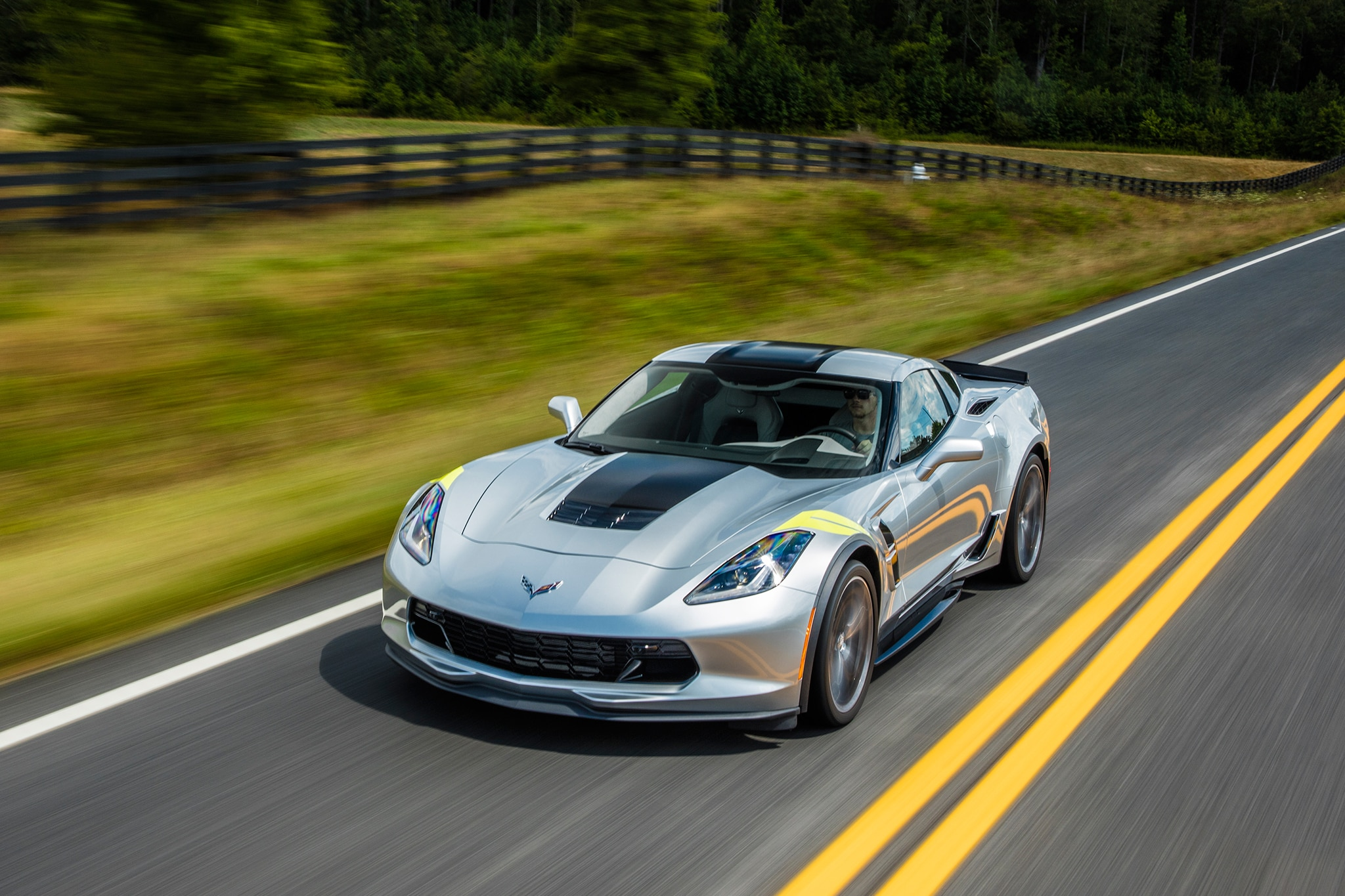 2017 Chevrolet Corvette Grand Sport Automatic First Drive Review ...