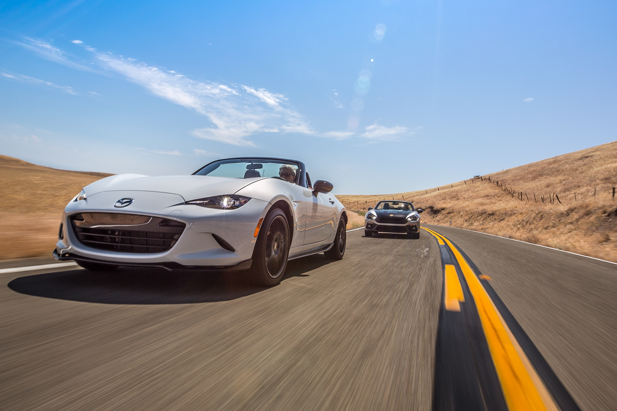 2017 Fiat Spider Abarth vs  2016 Mazda MX-5 Miata Club