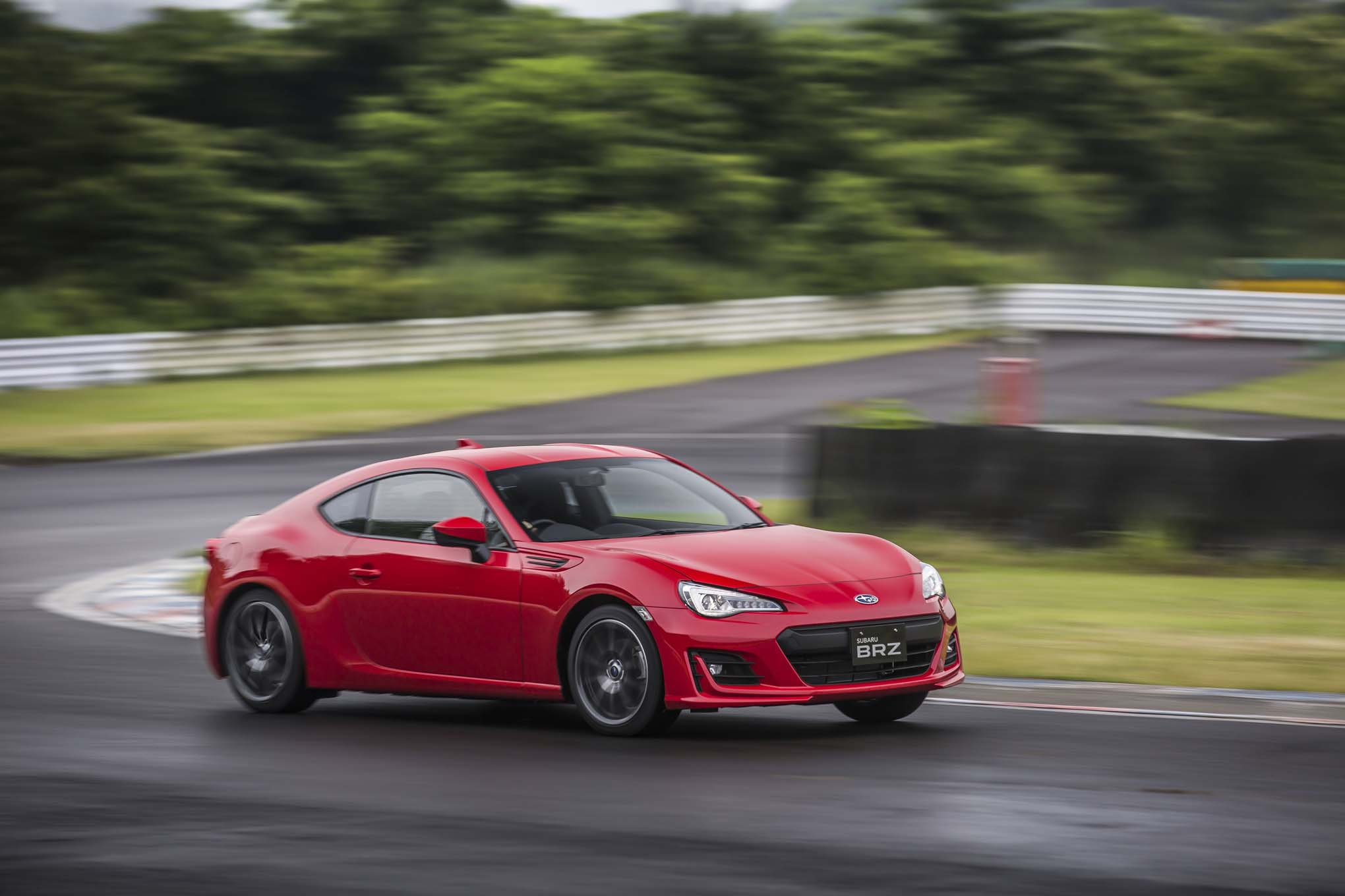 First Drive 2017 Subaru Brz Automobile Magazine