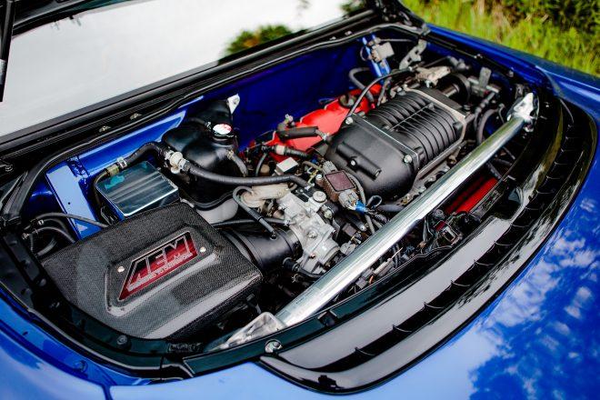Acura NSX Clarion engine
