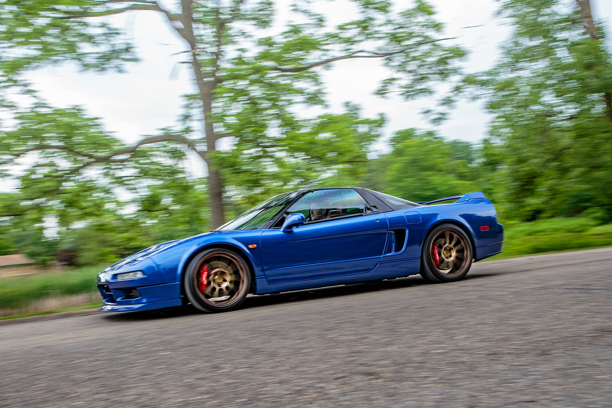 Outside of Time: Driving the Clarion Builds 1991 Acura NSX