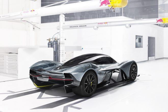 Aston Martin AM RB rear three quarters