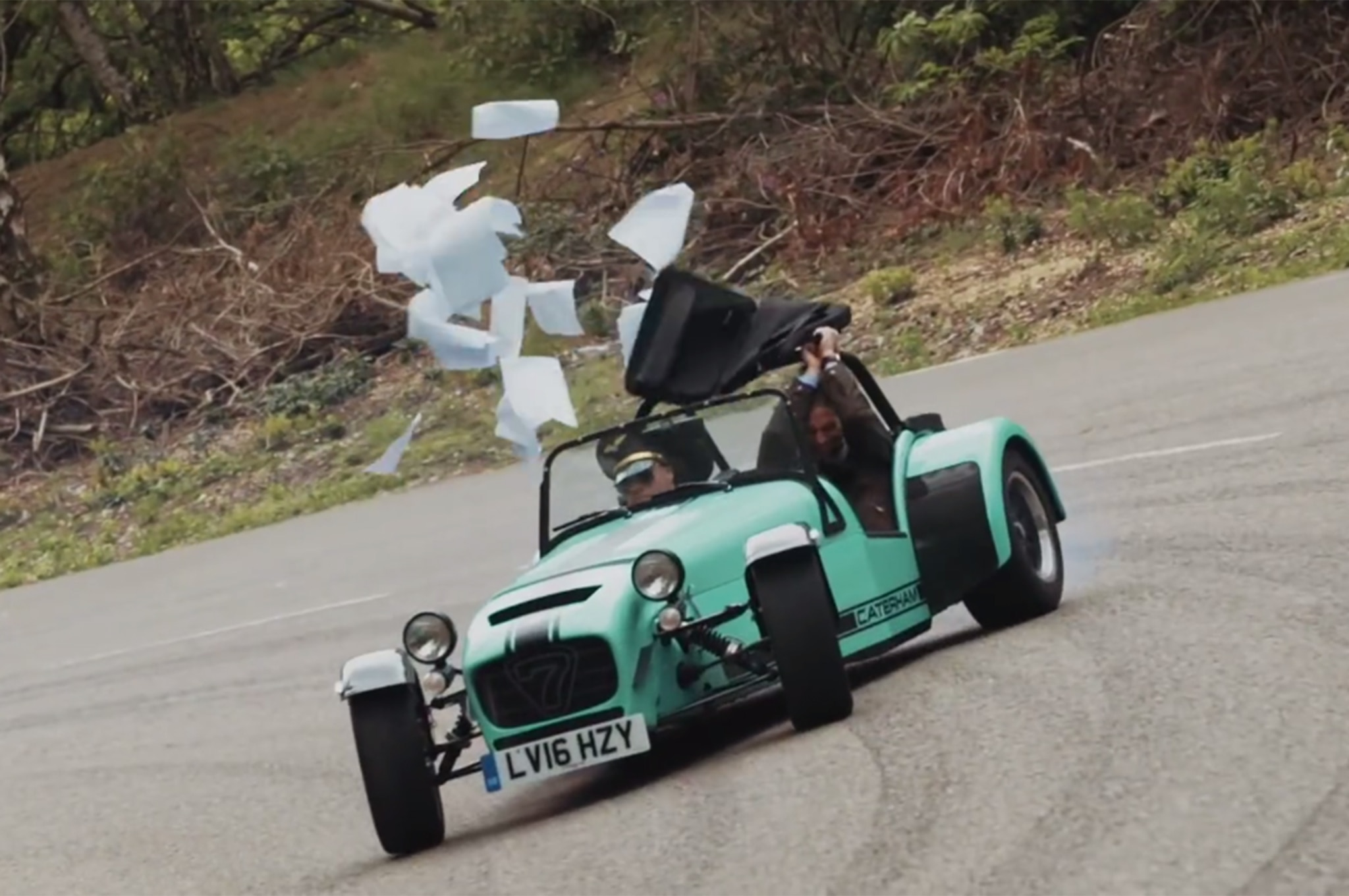 Caterham Releases The Coolest Airline Safety Presentation Ever