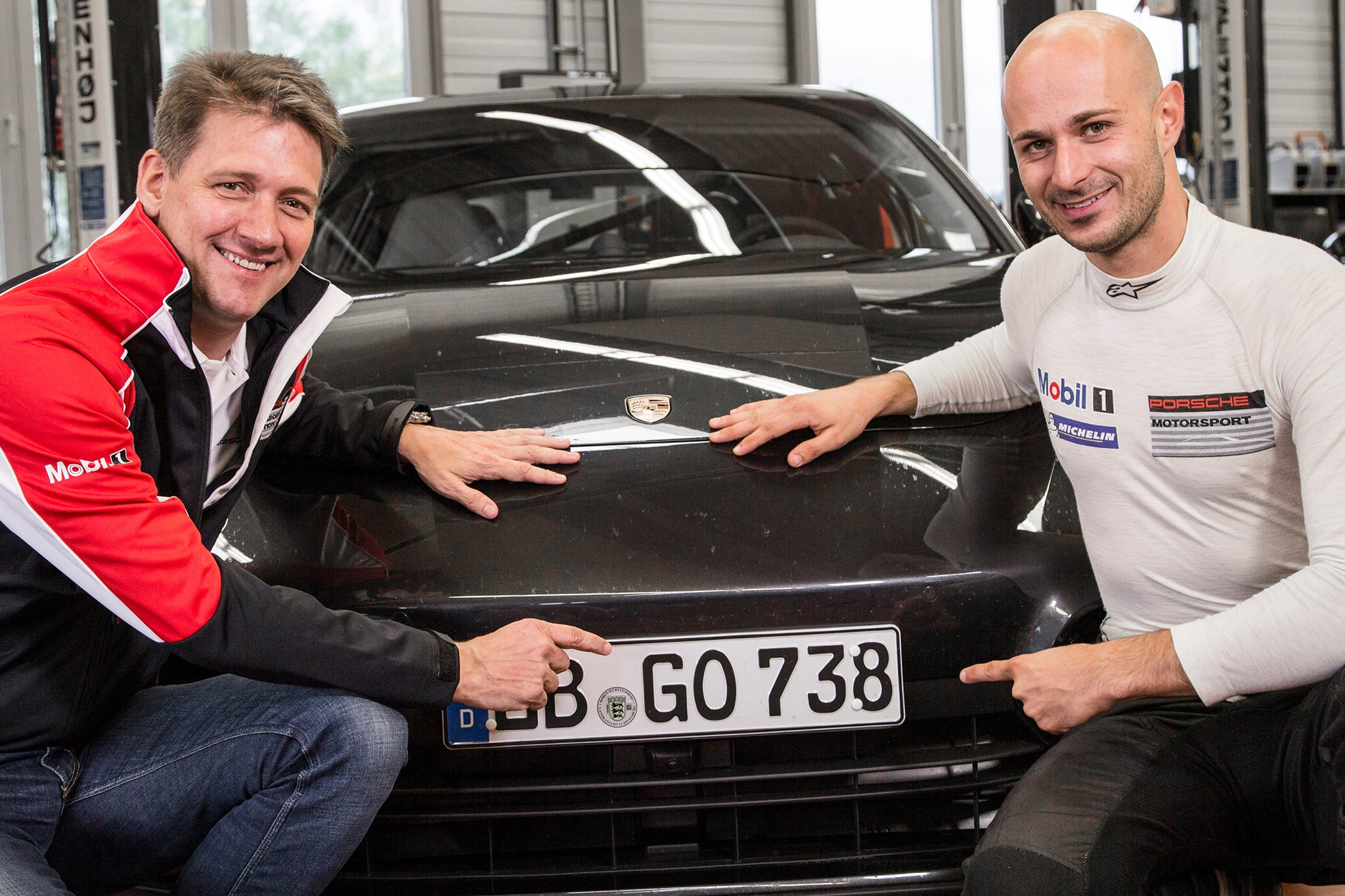 Dr Gernot Doellner Vice President Product Line Panamera Lars Kern Test And Development Driver Porsche 2016