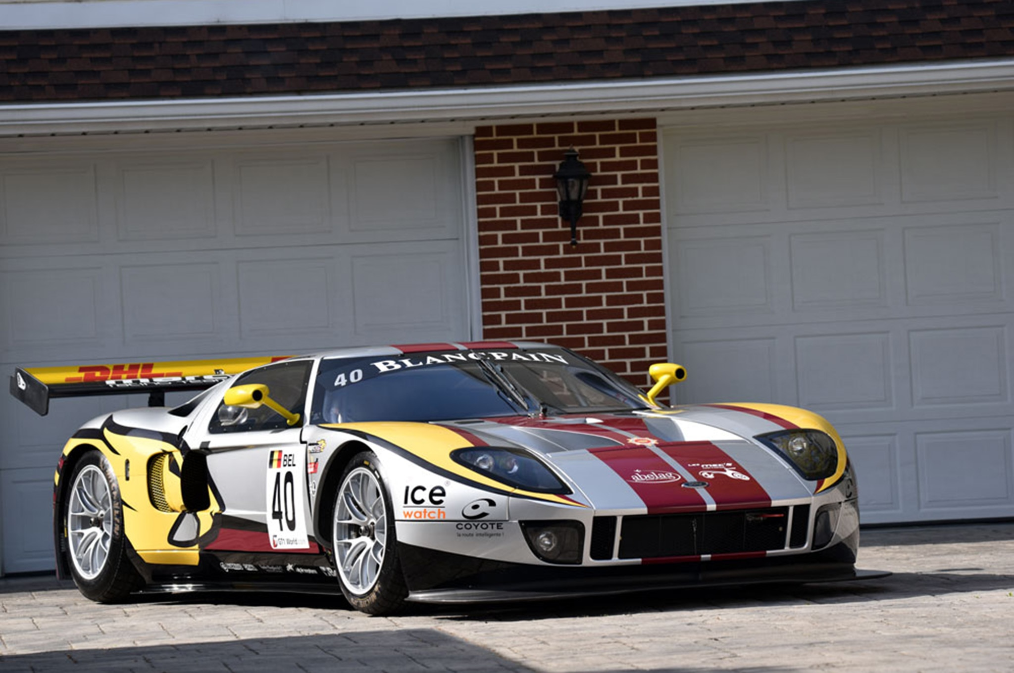 One Of Four Matech Ford Gt Race Cars Up For Sale On Ebay