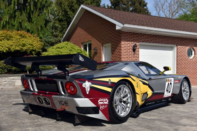 One Of Four Matech Ford Gt Race Cars For Sale On Ebay