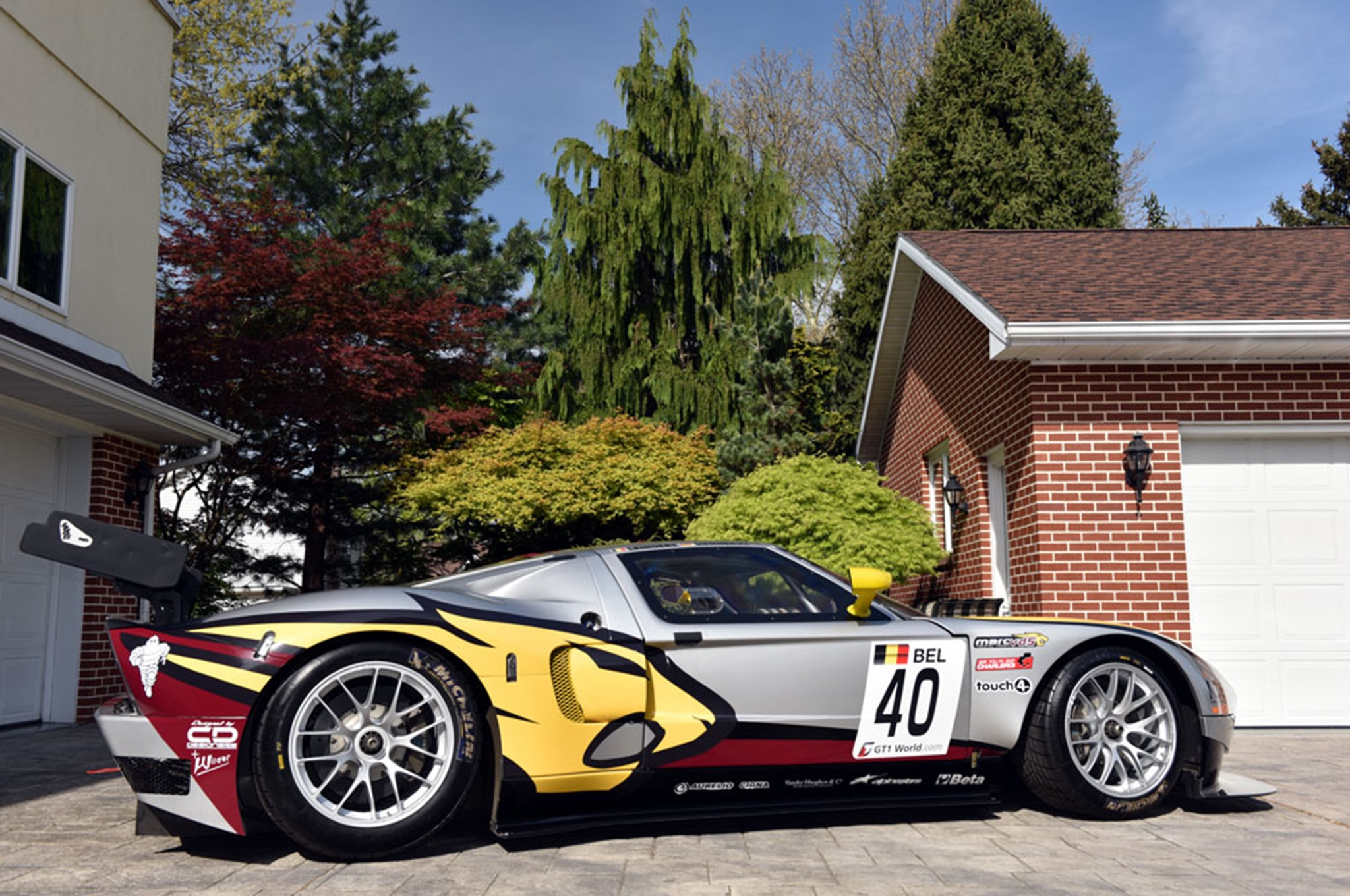 e of Four Matech Ford GT Race Cars Up for Sale on eBay